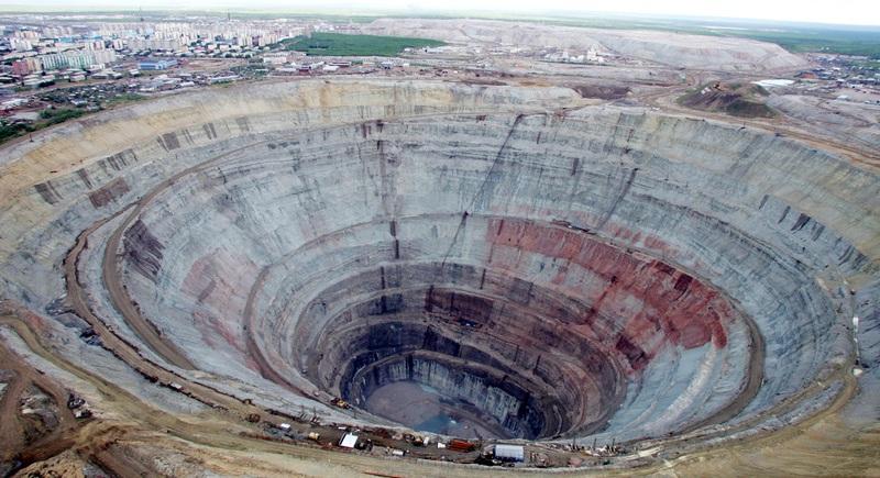 Кимберлитовая трубка: местонахождения алмазов