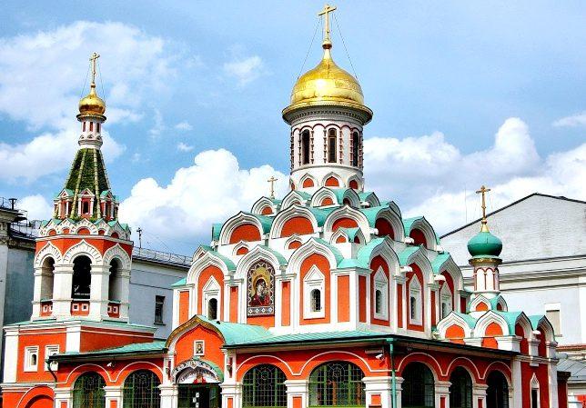 Казанский собор, Красная. площадь