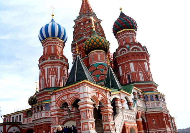 Собор Василия Блаженного, красная пощадь