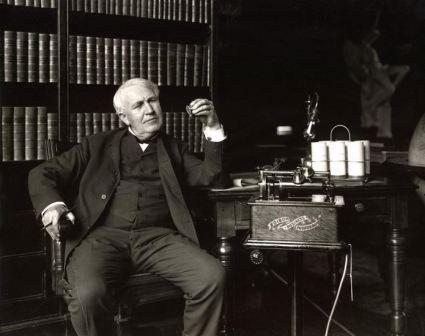Изобретатель Томас Эдисон