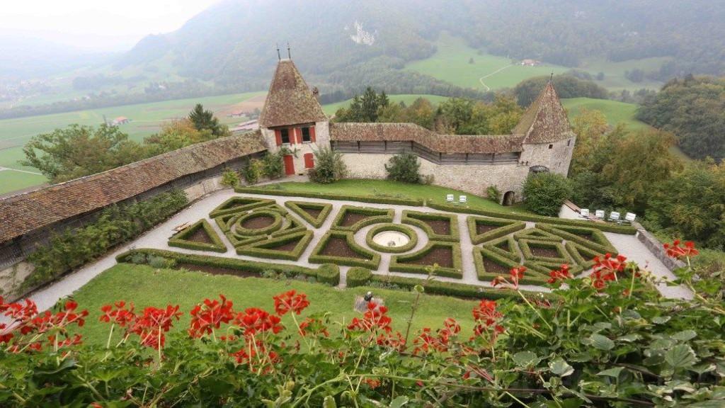 Switzerland Houses Fribourg Gruyere Cities