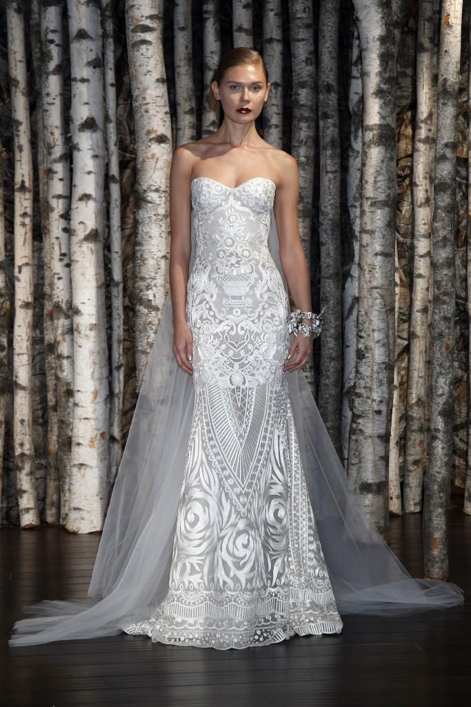 шикарное платье невесты