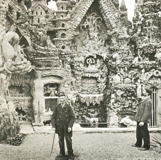 Идеальный дворец почтальона Фердинанда Шеваль
