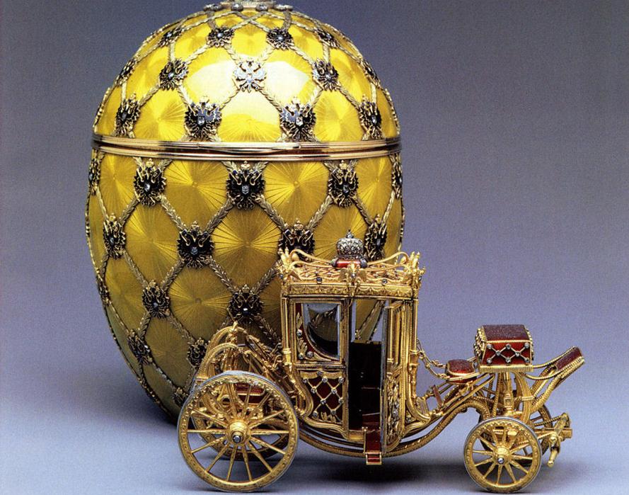 экспонаты музея Карла Фаберже