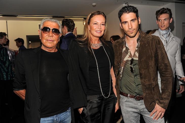 Roberto Cavalli&Eva Cavalli&Miguel Angel Silvestre