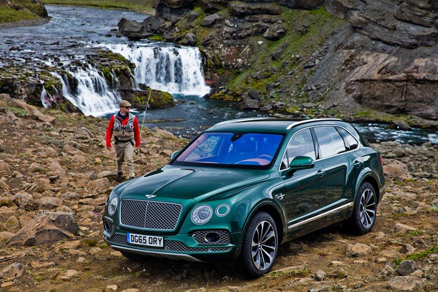Bentley Bentayga для любителей рыбалки