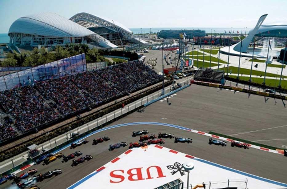 Гран-при России «Формула-1»