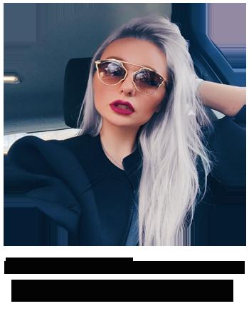 блогер, теннисистка Светлана Патахонова