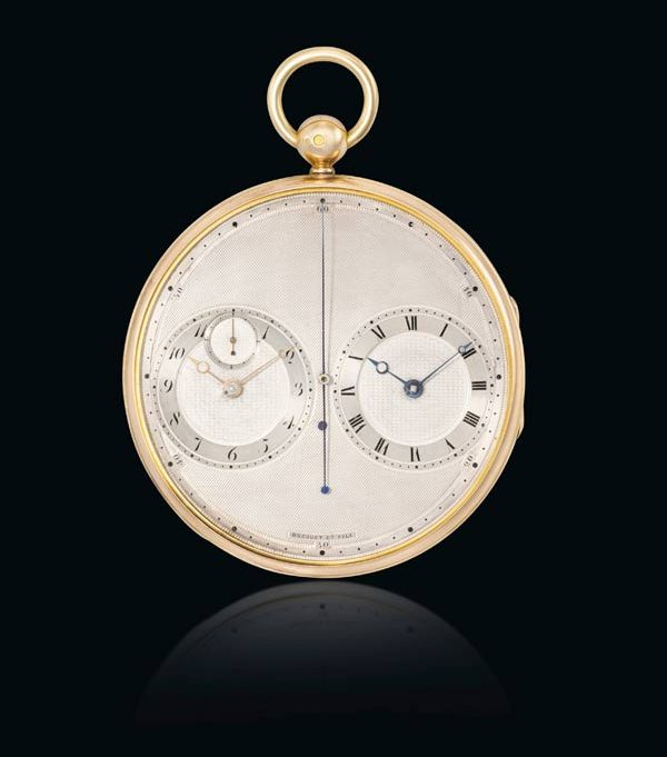 Paris Precision Stopwatch by Breguet & Fils