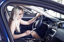Светлана Патахонова в Jaguar XE