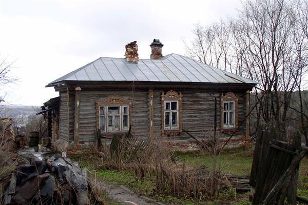 старенький домик