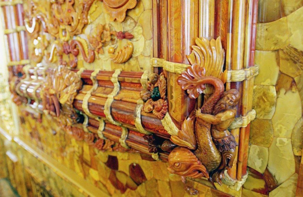 История янтарной комнаты