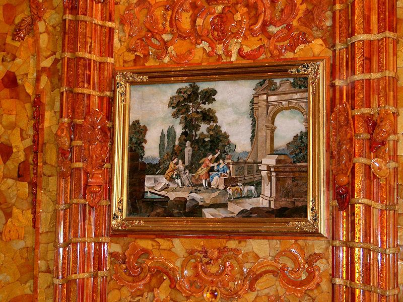 Тайны янтарной комнаты