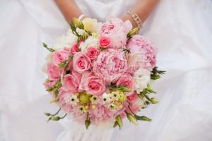 свадьба в цвете клубничный лед
