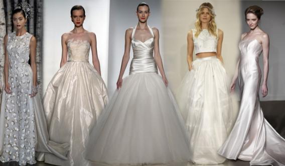 Неделя свадебной моды в Нью Йорке