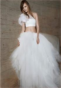 Вера Вонг выпустила шокирующую свадебную коллекцию весна-лето 2016