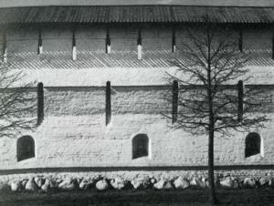 Восточная стена Спасского монастыря. 1635–1646