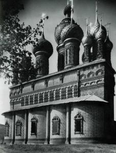 Церковь Иоанна Предтечи в Толчкове. 1671–1687.