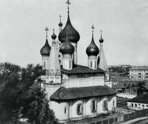 Церковь Николы Мокрого. 1665–1672