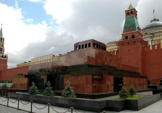 Мавзолей, Красная площадь