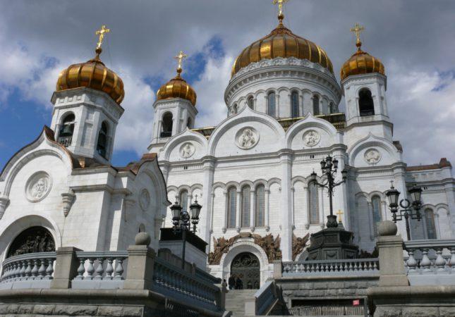 храм Христа Спасителя, ул. Волхонка, 15.