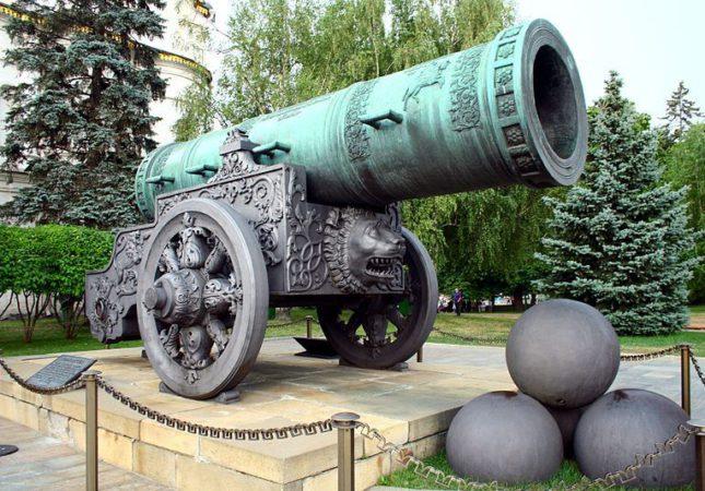 царь-пушка,Музей Московского Кремля