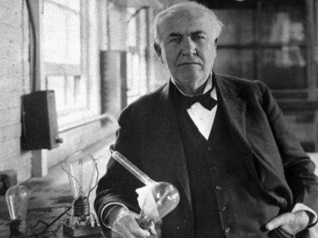 Томас Эдисон изобретатель