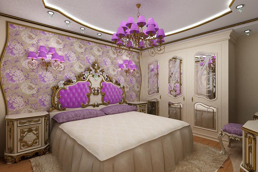 Красивая спальня
