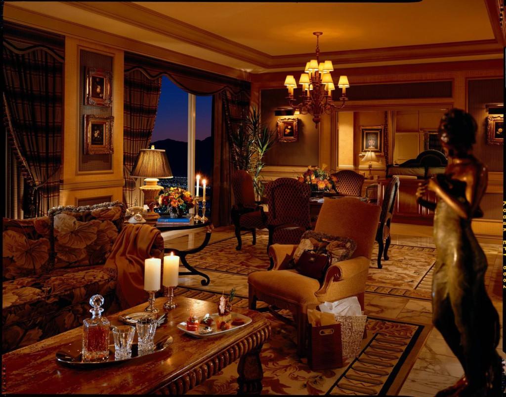 Королевский люкс в Hotel President Wilson в Женеве, в Швейцарии