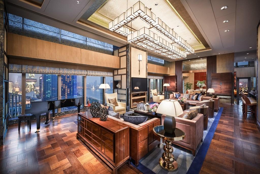 Роскошные Апартаменты Shangri-La, в отеле Shangri-La Bosphorus в Стамбуле, в Турции