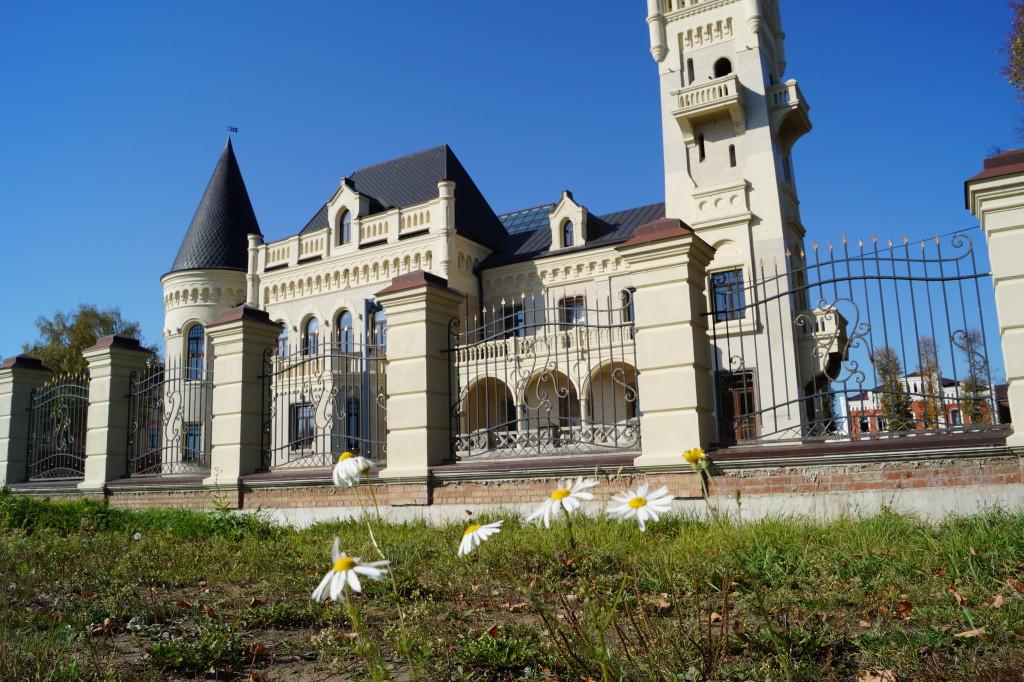 Восстановленный замок Понизовкина 2015 год