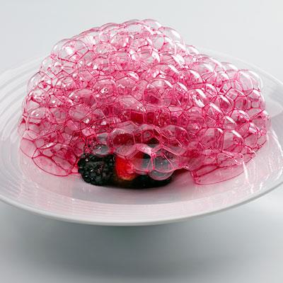 Блюдо: «Красные плоды из сада»
