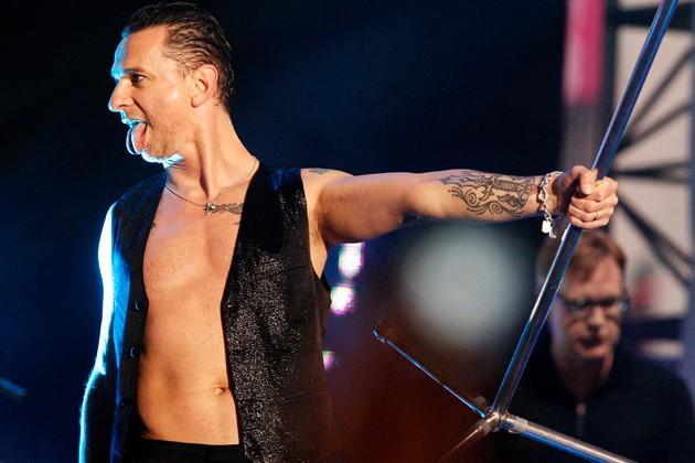 Depeche Mode: концерт в Москве 2017
