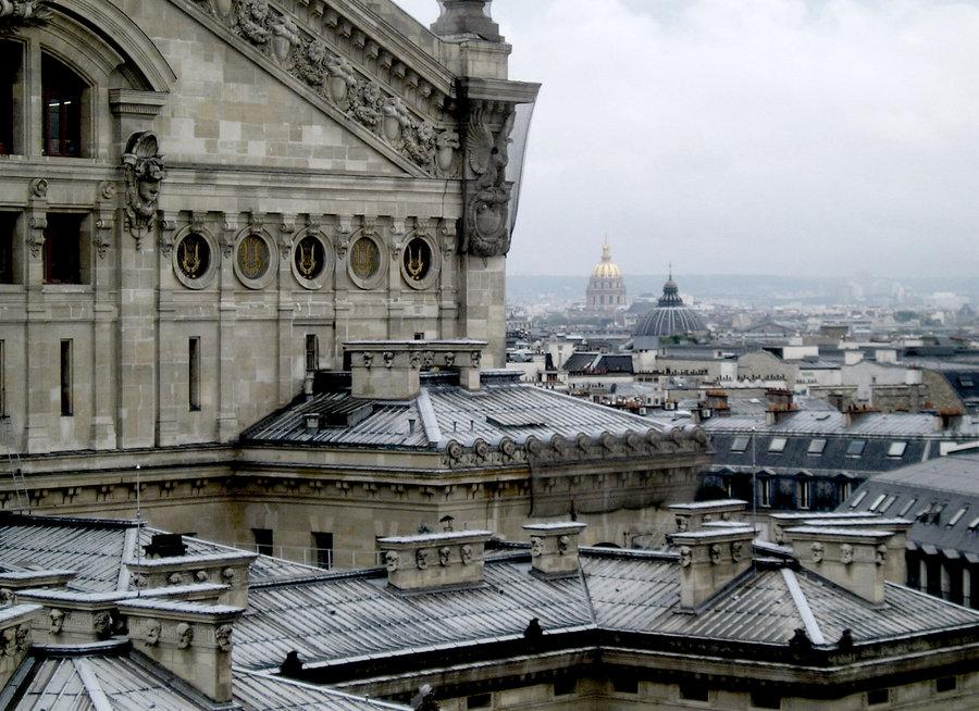 Париж. Эфелева башня