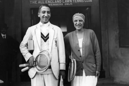 Suzanne lenglen & Rene Lacoste