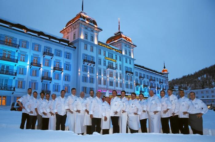 Гастрономический фестиваль St.Moritz Gourmet Festival