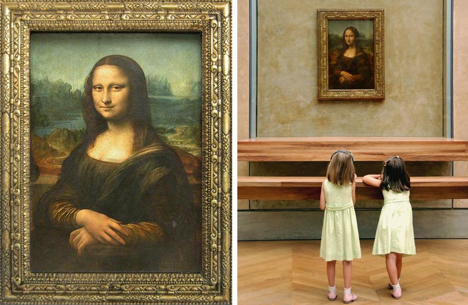 Париж. Лувр. Монализа