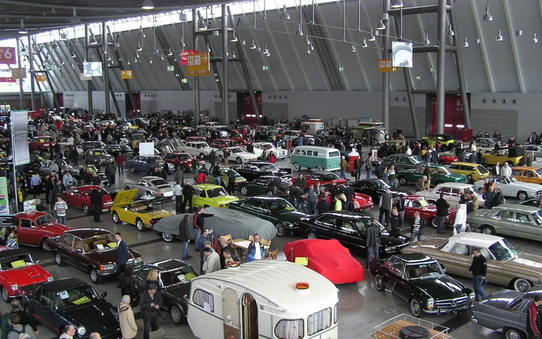 Автосалон Retro Classics 2017 в Штутгарте