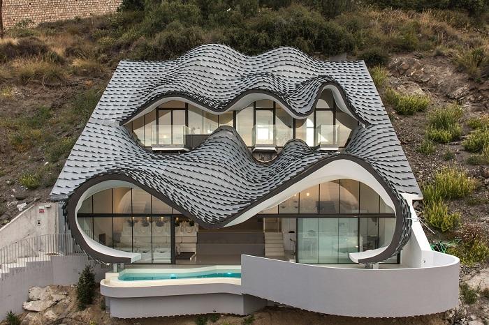 Необычные формы: Шикарный особняк