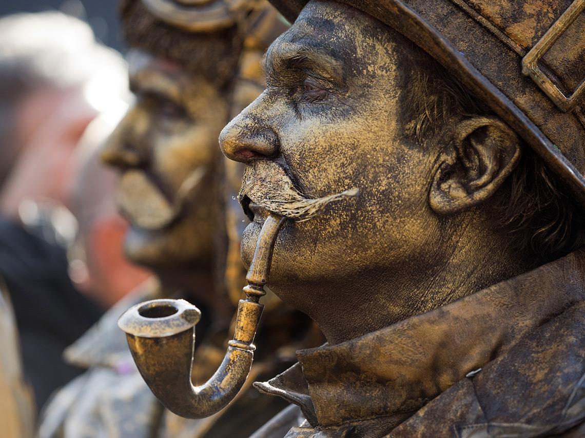 Арнем: Живые статуи