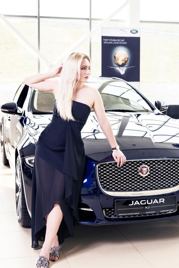 Светлана Патахонова и Jaguar