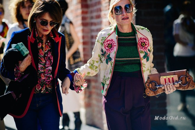 Уличный стиль недели моды в Милане весна-лето 2018