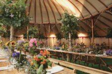 Пять лучших тенденций в проведении свадеб и мероприятий на открытом воздухе
